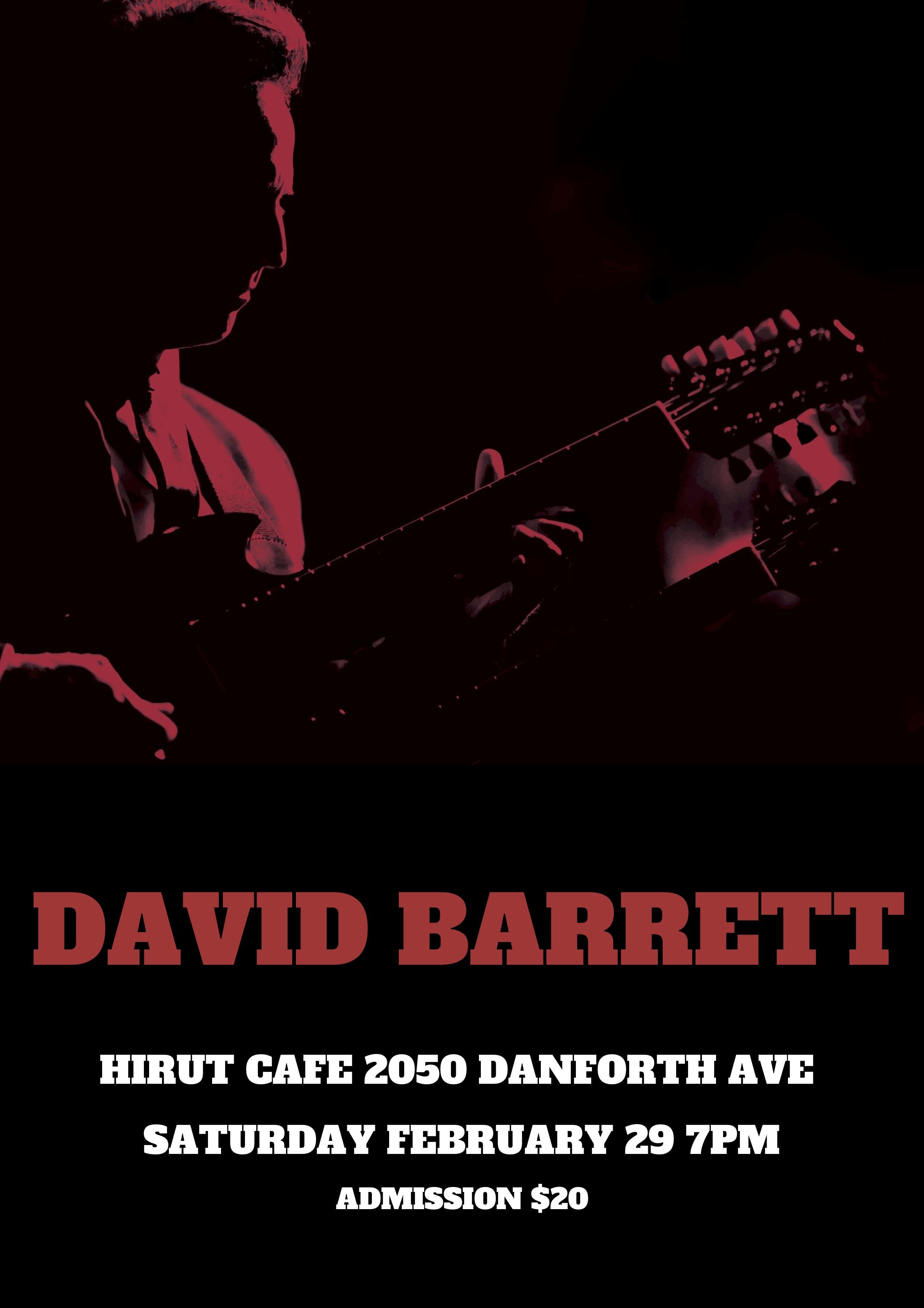 David Barrett Poster Feb 29